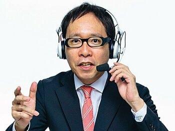 """清野茂樹(実況アナウンサー)~スポーツの現場で働く""""プロ""""に直撃!~<Number Web> photograph by Shigeki Kiyono"""