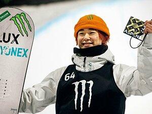"""平野歩夢を見て「本当にスノーボードを休んでいたの?」 世界選手権初Vの戸塚優斗が意識する""""北京五輪の強敵"""""""