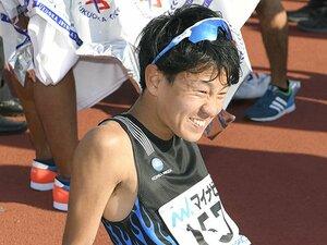 13位でも、小さくガッツポーズ。神野大地の初マラソンは手応え満載。