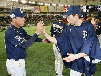 金子千尋「マー君じゃないですけど」オリのエースとして、負けない決意。<Number Web> photograph by Kyodo News
