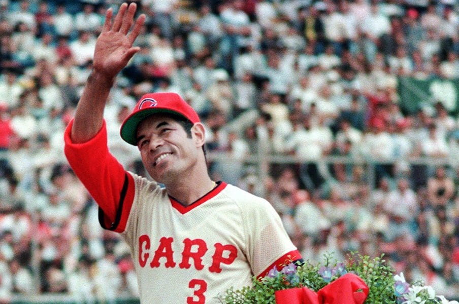 メジャーとステーキと赤ワイン。衣笠祥雄さんの深い野球愛に触れて。<Number Web> photograph by Kyodo News