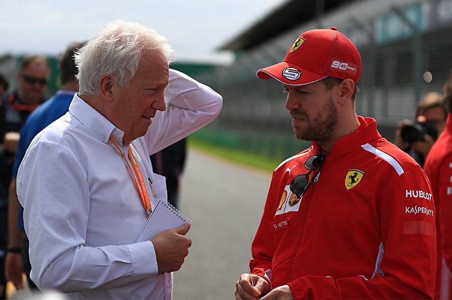 F1開幕戦前日に急逝した審判部長。ベッテル、ボッタスらが捧げた感謝。<Number Web> photograph by Getty Images