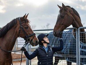2度目の五輪を目指す人と馬の物語。中田晴香オーナーとエジスター。
