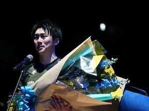 """""""お祭り男""""涙の引退…「最後だから言いますけど」33歳高松卓矢がバレー界、Vリーグへ望むことを熱弁"""
