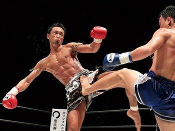 NO KICK NO LIFEが示す、キックボクシング復興の形。~あらゆる団体の王者同士が戦う中立の大舞台を~<Number Web> photograph by Susumu Nagao