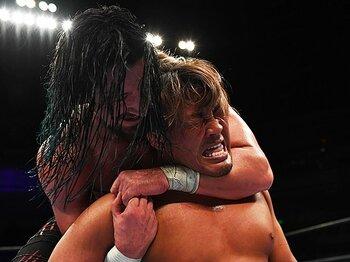 ジェイ・ホワイトは新日本を変える。棚橋弘至が認める、本物のヒール。<Number Web> photograph by Getty Images