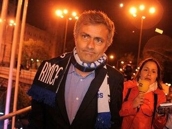 レアルに守備的戦術は許されるのか?モウリーニョが戦っている2つの敵。<Number Web> photograph by Getty Images