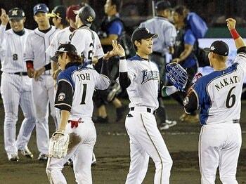 お待ちかね! 「もつ鍋 わたり」のプロ野球前半戦「激辛総括」2013。<Number Web> photograph by KYODO