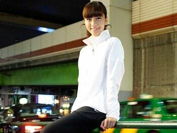<私とラン> 安田美沙子 「雨の皇居を泣いて走ったこともありました」<Number Web> photograph by Atsushi Hashimoto