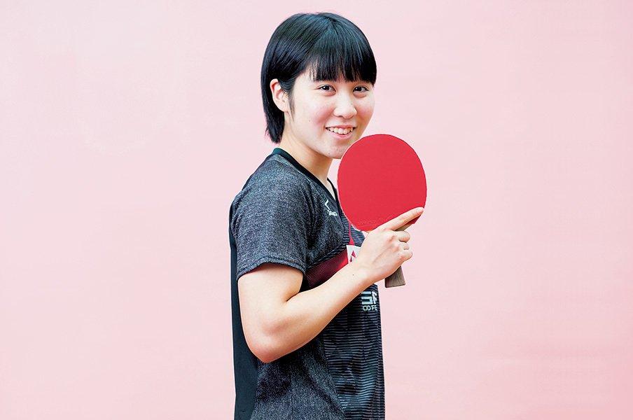 日本卓球界ニューヒロインの決意。平野美宇「絶対的なエースになる」<Number Web> photograph by Nanae Suzuki