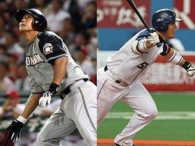 """日本ハム・中田とオリックス・岡田。""""未来の大砲""""の異なる起用法。"""