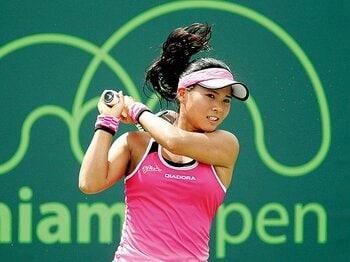 その目ヂカラと熱血コーチ。新星・尾崎を押し上げたもの。~テニスを楽しもう、とは真逆のスタイル~<Number Web> photograph by Getty Images