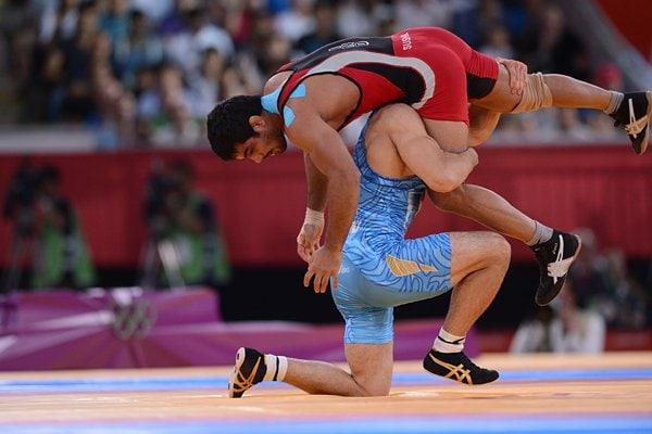 決勝で繰り出した強烈なボディースラム。~ロンドン五輪2012~