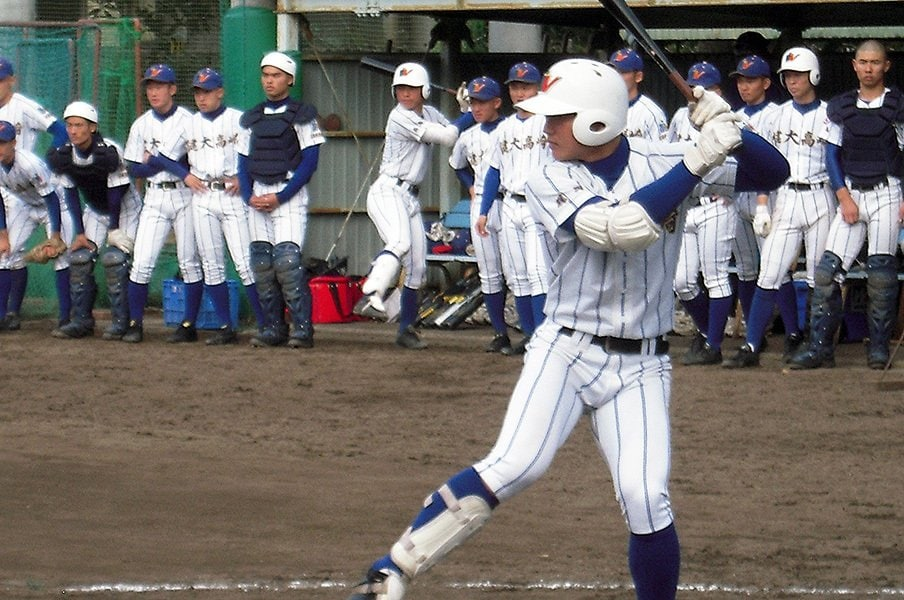 健大高崎vs.遊学館が熊野で実現!?センバツまで4カ月、才能を発見。<Number Web> photograph by Masahiko Abe