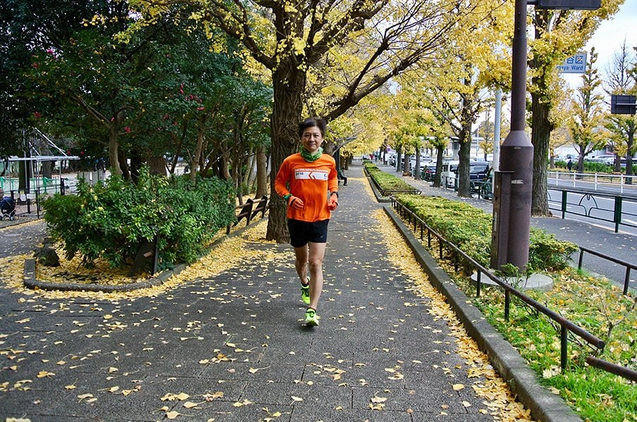 おやじ市民ランナーの挑戦。「東京マラソンでサブスリー」への道。<Number Web> photograph by Hiroki Ban