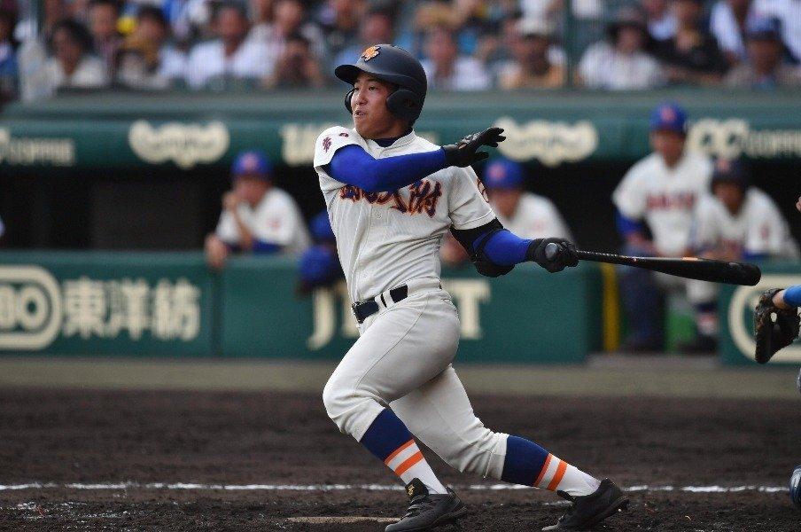 """""""本塁打の甲子園""""はなぜ起きたか。打球方向でわかるスイングのレベル。<Number Web> photograph by Hideki Sugiyama"""