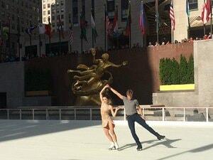 ニューヨークに美しい冬が近づいて……。五輪アイスダンス王者が語る復帰への道。