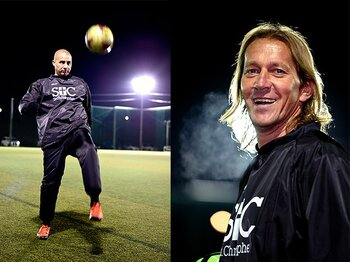 懐かしのトレゼゲとサルガドに聞く。現代欧州サッカー最強選手は誰?<Number Web> photograph by Naoya Sanuki