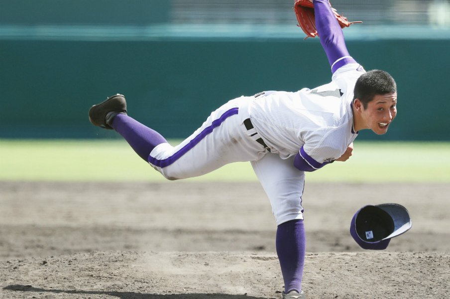 「普通にやれば、150は出る」金足農・吉田輝星の全力投球宣言。<Number Web> photograph by Kyodo News