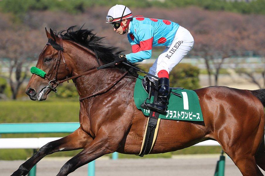 ダービーで激突する2頭の無敗馬。ブラストワンピースに混戦適性が。<Number Web> photograph by Yuji Takahashi