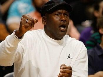 """ボブキャッツを買収したMJは名経営者となるか。~NBAの""""伝説""""がオーナーに~<Number Web> photograph by NBAE/Getty Images"""
