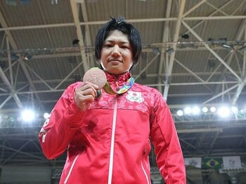 中村美里がついに微笑んだ日――。金以上の価値ある、復活の銅メダル。<Number Web> photograph by JMPA