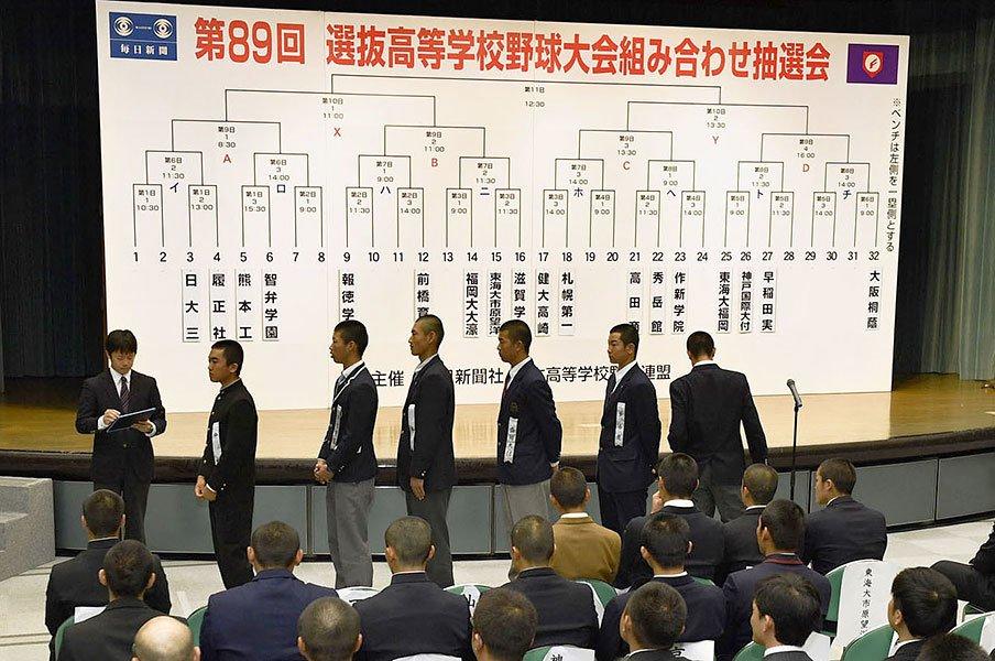 """""""打高投低""""センバツの2年生3人。大阪桐蔭、履正社の隠れた超高校級。<Number Web> photograph by Kyodo News"""