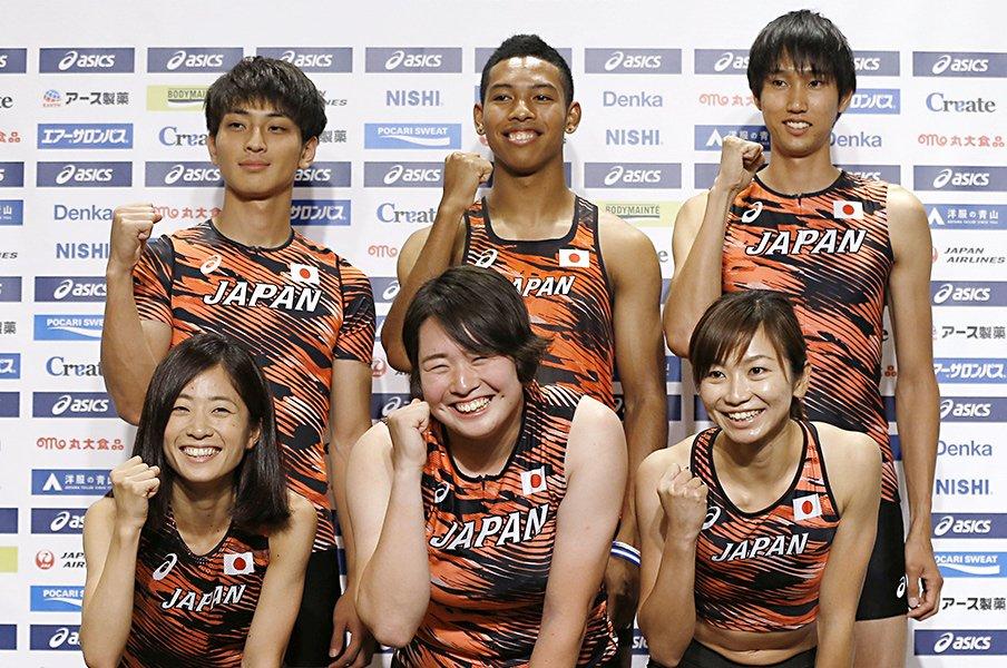 サニブラウンだけじゃない記録の話。女子やり投、100m障害で快挙の気配。<Number Web> photograph by Kyodo News