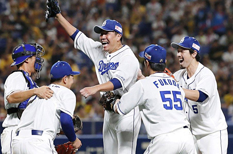 ノーヒットノーランは約0.15%。91度の投手、捕手、そして球団は?<Number Web> photograph by Kyodo News