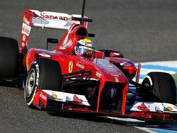 トヨタが技術協力したフェラーリ!?新型F1マシンに見えた王国の復権。<Number Web> photograph by Getty Images