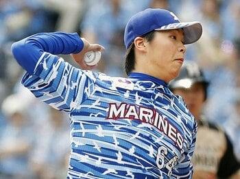 """愛のムチで""""エース候補""""が遂に。本気の二木康太はロッテを救うか。<Number Web> photograph by Kyodo News"""