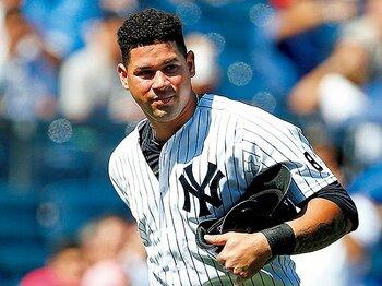 23歳のサンチェスが台頭。ヤンキースは変われるか?~長年の主力を放出し、有望株に一気にシフト。~<Number Web> photograph by Getty Images