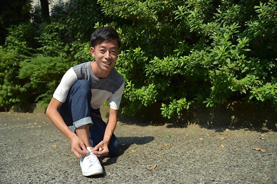 アメリカ名門大学での陸上と勉強。岡田健が体感した部活の日米差。<Number Web> photograph by Hideki Sugiyama