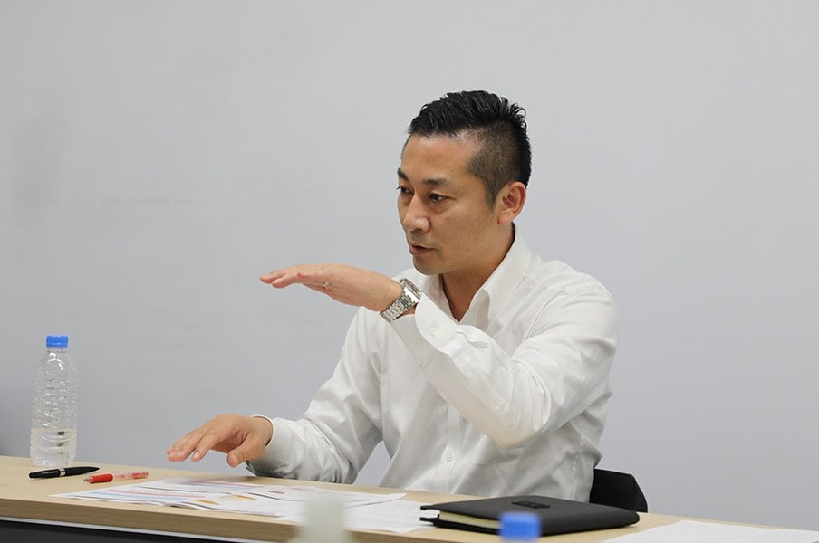 "Bリーグ千葉、急成長の秘訣とは?スポーツ経営も""ギブ&テイク""で。<Number Web> photograph by Sports Graphic Number"