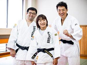 パラ柔道、廣瀬悠・順子夫妻。「続ける理由」に松岡修造混乱!?