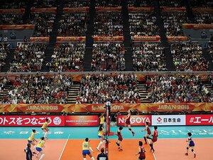 日本でバレー国際大会ができない?中国など海外での人気と放映権料。