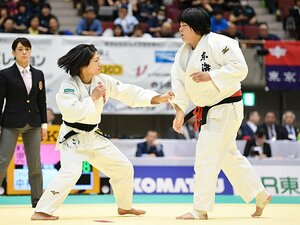 「56kg対110kg」が女子柔道で実現。中村美里、皇后杯での挑戦と未来。