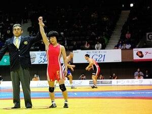 <悲運のレスリング世界女王の挑戦> 小原日登美 「10年越しの夢舞台」