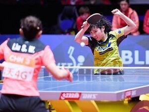 世界卓球決勝に見た「中国の壁」。日本女子はいつ越えられるのか?