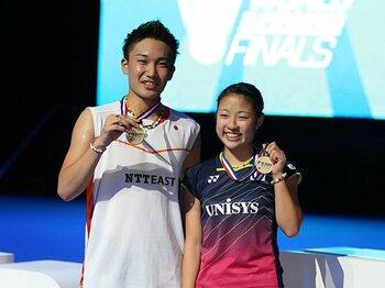 全英OP制覇、世界選手権メダル……。日本バドミントン、驚異的躍進の背景。<Number Web> photograph by Xinhua/AFLO