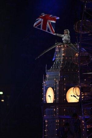 [ロンドン五輪2012] 英国ポップカルチャー満載の閉会式。