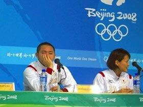 競泳と柔道、対照的な日本選手団。