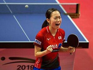 勝っても負けても涙の日本女子卓球。石川佳純と平野美宇が通った修羅の道。