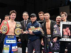 田口良一が歩んだボクサー人生と縁。王者への道と井上尚弥、田中恒成。