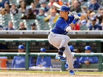 不動の1番打者として、200本安打へ。青木宣親、MLB3年目へ順風満帆。<Number Web> photograph by Getty Images