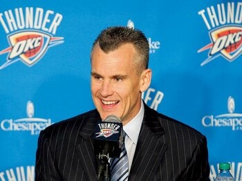 新ヘッドコーチの人選に、サンダーの大胆さを見る。~NBA未経験の男を選択した理由~<Number Web> photograph by Getty Images
