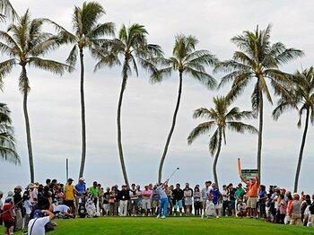 「石川遼への罵声」報道の真相。選手と観客が共有すべきマナーとは?<Number Web> photograph by US PGA TOUR/getty images