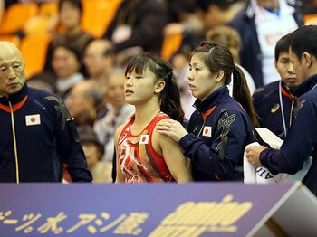 王者を追うレスリングの新星たち。20歳、登坂絵莉は攻守万能型!?<Number Web> photograph by AFLO