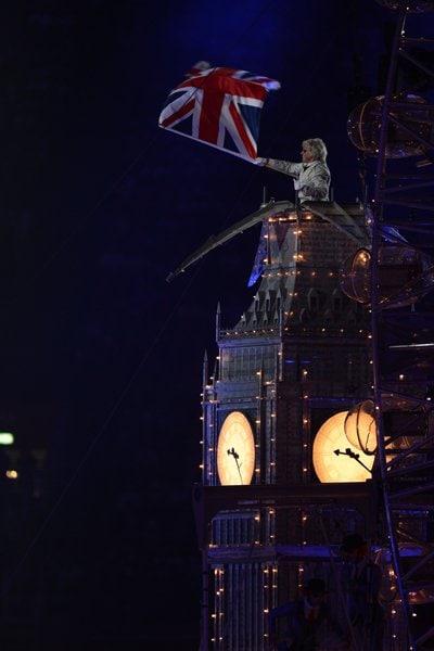 ビッグベンとユニオンジャック。~ロンドン五輪2012~