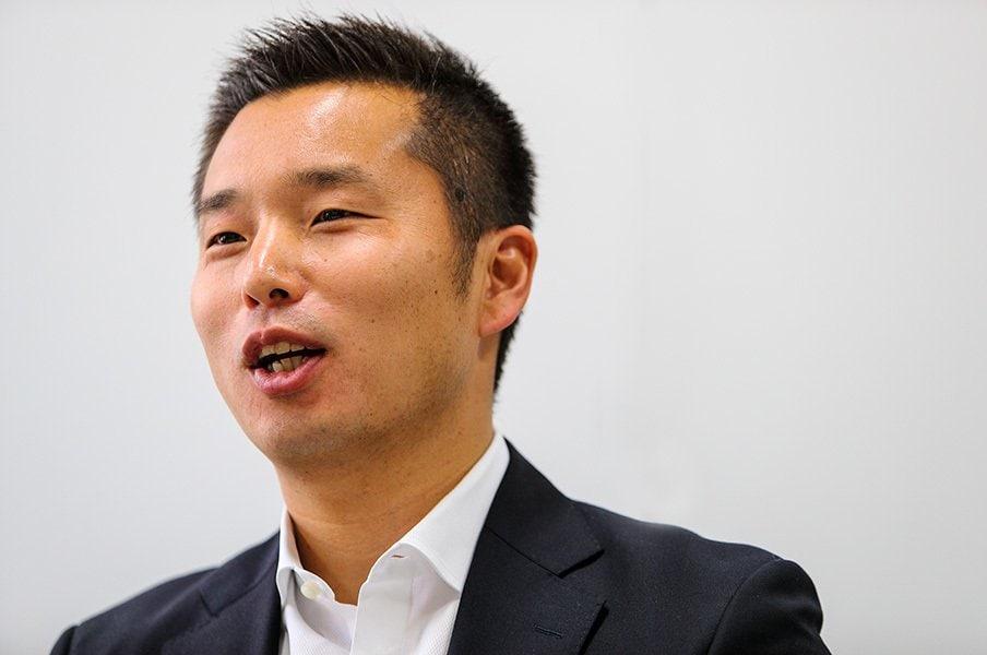 「大学スポーツを育てていくことは、日本のスポーツ産業の発展につながる」と断言した池田氏。